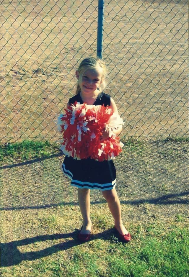 little abbie cheerleader